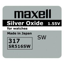 Bateria Maxell SR 516 SW /317/ - pudełko 10szt