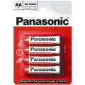 Bateria Panasonic R-6 AA - blister pak. po 4 szt.