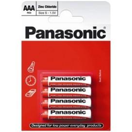 Bateria alkaliczna Panasonic R-3 AAA - blister pak. po 4 szt.