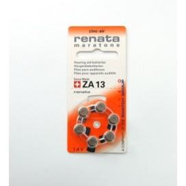 Bateria słuchowa Renata 13 - Blister 6 szt.