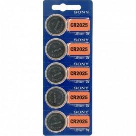 Bateria litowa Sony CR 2025 3V - Blister 5 szt.