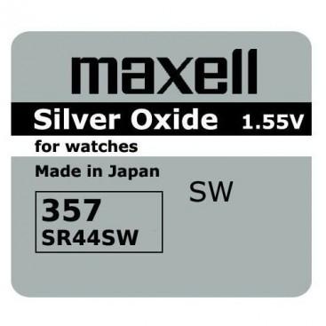Bateria Maxell SR 44 W /357/ - pudełko 10szt