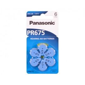 Bateria Panasonic 13 słuchowa - blister 6szt