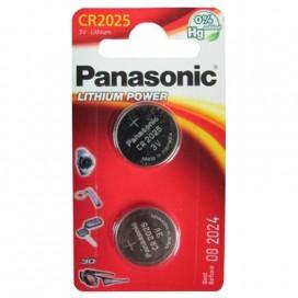 Bateria litowa Panasonic CR 2025 3V - Blister 2 szt.