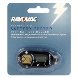 Tester do baterii słuchowych Rayovac