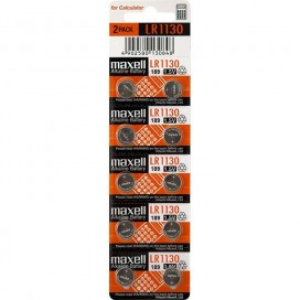 Maxell battery LR1130 - blister 10items