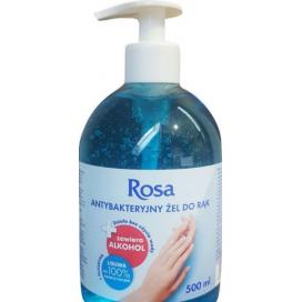 Żel antybakteryjny do dezynfekcji rąk ROSA 500ml