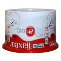 Płyty Maxell DVD-R 4,7GB 16X pakowane po 50szt 275701.40.AS