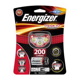 LATARKA  ENERGIZER LP09071 CZOŁOWA VISION HD 200 lumenów
