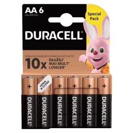 Bateria alkaliczna Duracell LR6 - blister 6 szt. / pudełko 60 szt.
