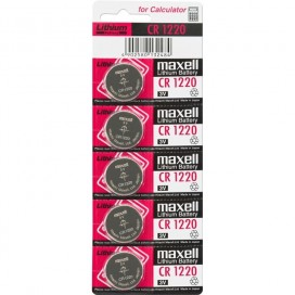 Maxell battery CR1220 - blister 5items