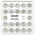 Maxell battery CR2025 - pack of 25items