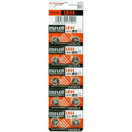 Maxell battery LR44 - blister 10 items