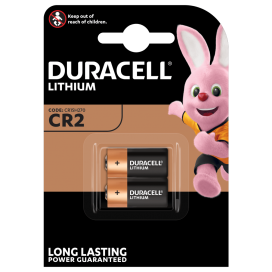 Duracell lithium battery CR 2 3V - blister 2 items