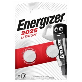 Energizer CR2025 battery - blister packs of 2