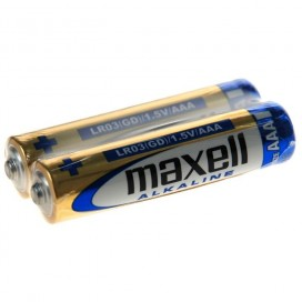 Maxell LR-3 Battery - shrink wrap of 2