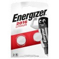 Energizer CR2016 battery - blister packs of 2