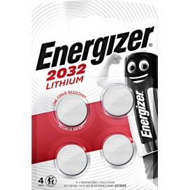 Energizer CR2032 Battery - blister packs of 4