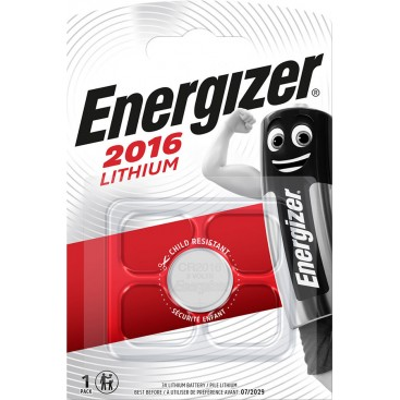 Energizer CR2016 Battery - blister of 1