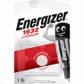 Energizer CR1632 battery -  blister packs of 1