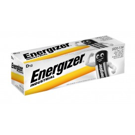 Energizer LR20 Industrial battery - packs of 12