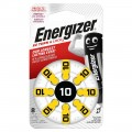 Energizer 10 Hearing Aid batteries - blister of 8