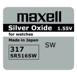 Maxell SR 516 SW /317/ Battery - box of 10