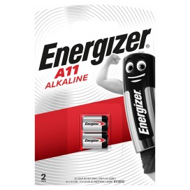 Energizer E11A Battery - blister packs of 2