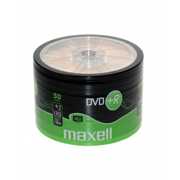 Płyta Maxell DVD+R 4,7GB 16x pakowane po 50