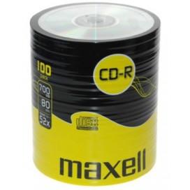 Płyty Maxell CD-R 700MB 52X pakowane po 50szt 624006.40.AS
