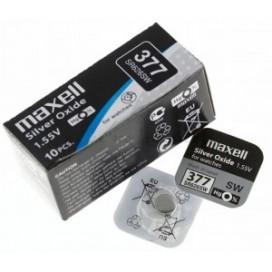 Bateria Maxell SR 626 SW /377/ niebieskie BLUE- pudełko 10szt