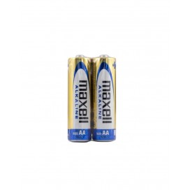 Maxell battery LR-6 AA shrink wrap of 4