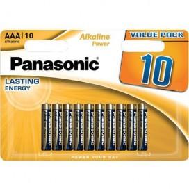 Bateria alkaliczna Panasonic LR3 AAA Bronze - opakowanie  10 szt.