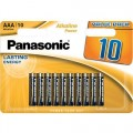 Panasonic LR-6 AA Bronze Alkaline Battery - blister of 4