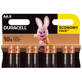 Bateria alkaliczna Duracell LR6 - blister 8 szt.