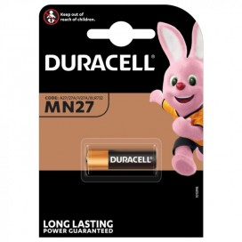 Duracell alkaline battery A27 12 V MN27 - blister of 1