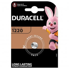 Duracell lithium battery CR 1220 3V- blister of 1