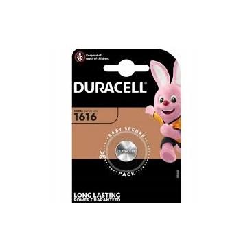 Duracell lithium battery CR 1616 3V- blister of 1
