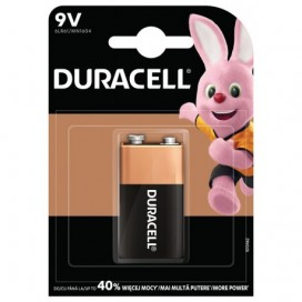 Duracell alkaline battery 6LR61 9V - blister of 1