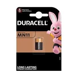 Bateria alkaliczna Duracell MN 11 6V -  blister 1 szt. / pudełko 10 szt.