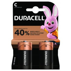 Duracell alkaline battery LR-14 SIMPLY - Blister of 2