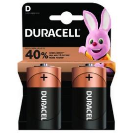 Bateria alkaliczna Duracell LR20 BASE - Blister 2 szt. / Pudełko 20 szt.