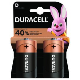 Duracell alkaline battery LR-20 SIMPLY - Blister of 2.
