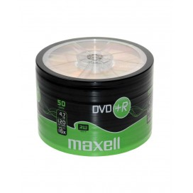Płyta Maxell DVD+R 4,7GB 16x pakowane po 50 275702.40.TW
