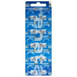 SIlver Renata SR416SW / 337 battery - packs of 10