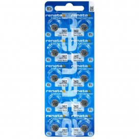 Silver battery Renata SR721SW / 362 - pack of 10