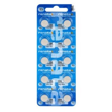 Silver Renata SR936SW / 394 battery - pack of 10