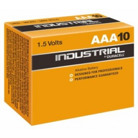 Duracell alkaline battery LR-3 AAA Industrial - box of 10