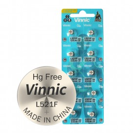 Alkaline Vinnic G 0 /L521/ Battery - Blister pack of 10