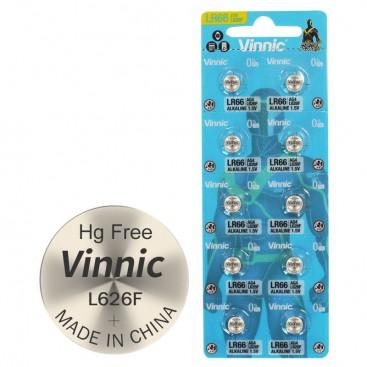 Alkaline Vinnic G 4 /L626/ Battery - Blister pack of 10